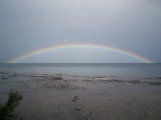 Rainbow over Georgian Bay