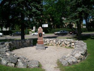 Louis Riel grave