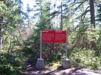 Pictograph Trail - Lake Superior