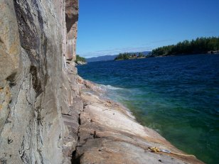 Pictographs, Lake Superior PP