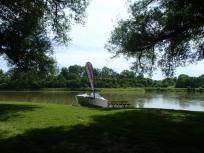 Grand River launch area