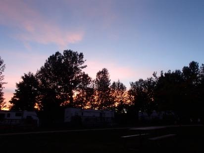A glorious sunset!