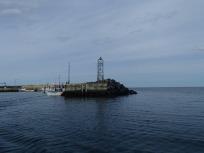 Light at Petit Rocher Wharf