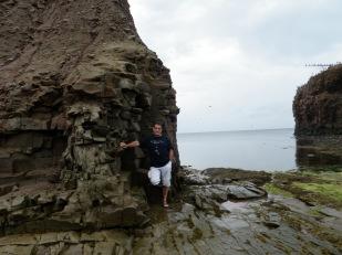 Dave, wind carved rocks