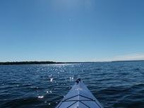 Kayaking with diamonds!