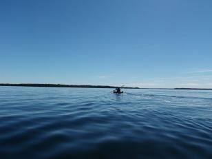 Balsam Lake kayaking