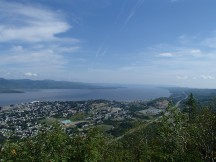 Stunning view of Chaleur Bay