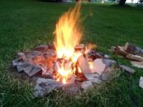 A beautiful campfire!