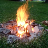 A beautiful campfire!