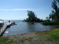 Boat launch at Glengarry