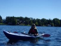 Sue Kayaking
