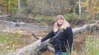 Sue at Bronte Creek