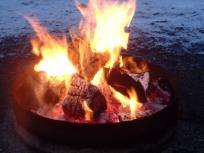A beautiful fire!