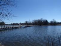 Bridge over Valens Lake