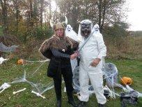 A viking slays a werewolf!