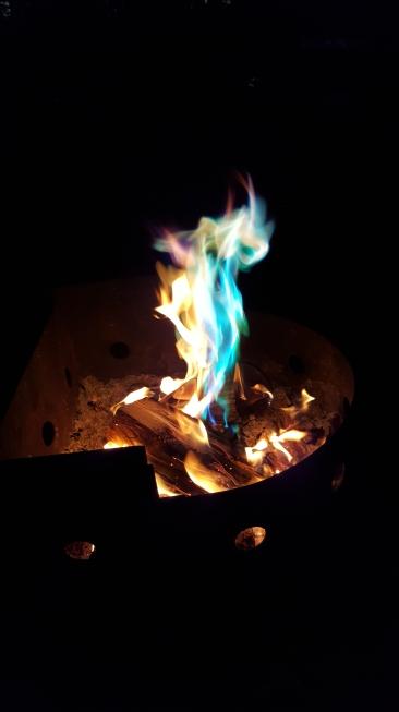 Cool Campfire Colours!