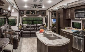 2018-KZ-RV-Durango-2500-D325RLT-Fifth-Wheel-Living-Room