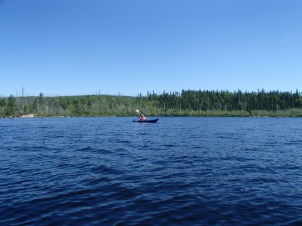 Kayaking Halfway Lake