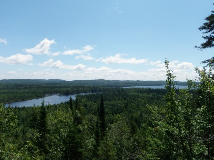 View from the lookout.